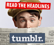 Visit the official Newsies Tumblr blog