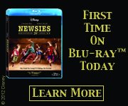 Disney's NEWSIES first time on Blu-Ray!