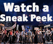 Watch a sneak peek of Disney's NEWSIES!