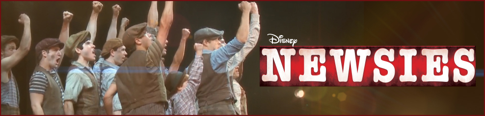 Disney's NEWSIES the Musical on Broadway!