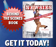 NEWSIES Behind the Scenes Book!