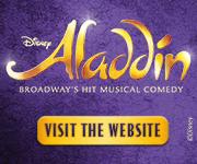 Disney's ALADDIN, Broadway's New Musical Comedy!
