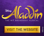 Disney's ALADDIN, Broadway's New Musical Comedy!