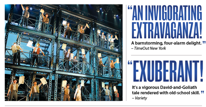 AN INVIGORATING EXTRAVAGANZA! -TimeOut New York